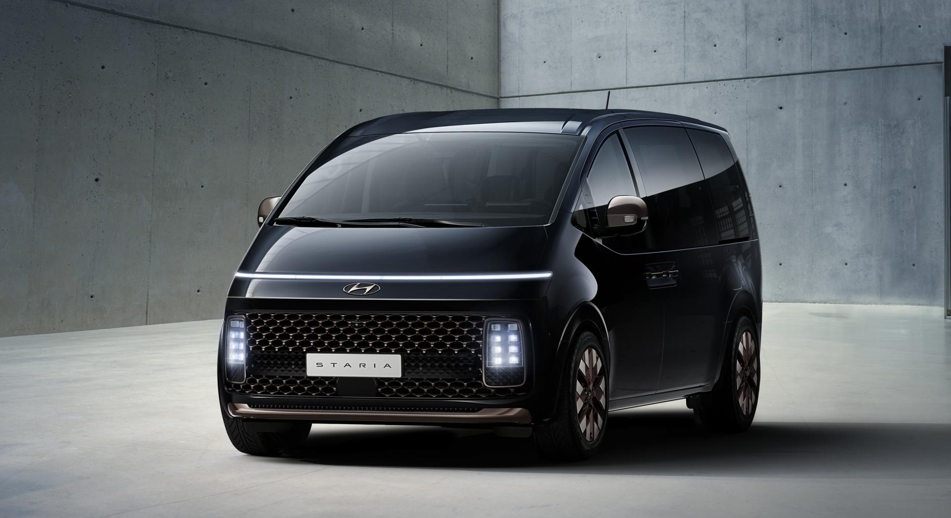 Hyundai Motor раскрывает подробности о дизайне минивэна STARIA